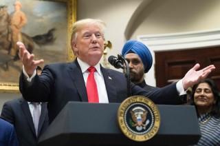 Trump Kecam Pemberitaan Pangkalan Misil Rahasia Korut