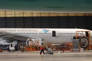 Garuda Indonesia Group Pasang Wifi di Penerbangan Domestik