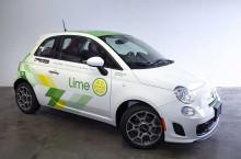 Lime Buka Bisnis Rental Mobil Hitungan Per Menit
