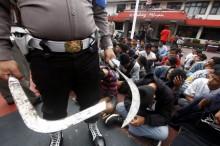 Terlibat Tawuran, Tiga Remaja di Bekasi Ditangkap