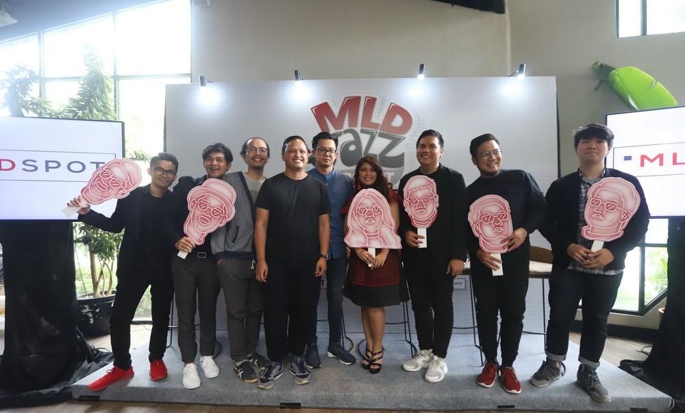 Nikita Dompas dan MLD Jazz Project (Foto: dok. MLD Jazz Project)