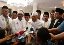 Ma'ruf Berdoa Indonesia Dijauhkan dari Tsunami Hoaks