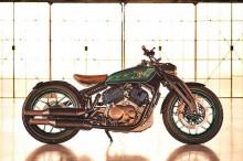 Royal Enfield Pamer KX Concept Bergaya Bobber