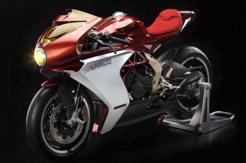 Intip Motor Konsep MV Agusta Superveloce 800