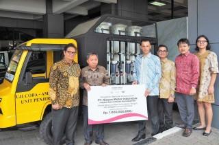 Donasi dari Industriawan Otomotif untuk Korban Gempa Palu