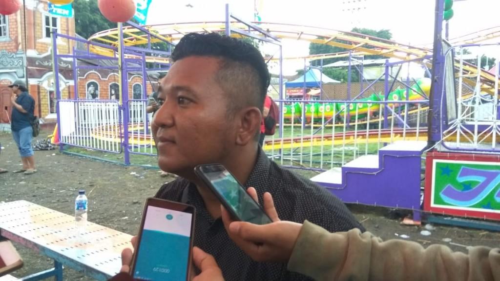 Juru bicara managemen Berkah Ria, Diva Permana di Yogyakarta, Kamis, 15 November 2018. Medcom.id/ Patricia Vicka.