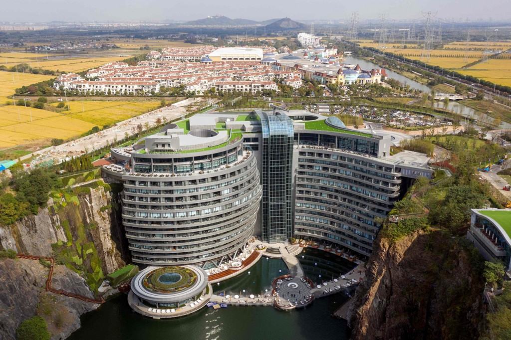 Melihat Mewahnya Hotel Bawah Tanah Pertama di Dunia