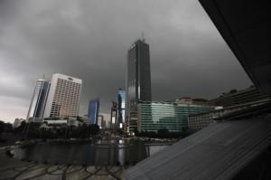 Ibu Kota Diprediksi Diguyur Hujan Ringan