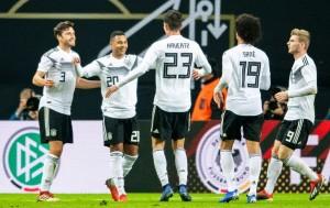 Jerman Menang Meyakinkan atas Rusia