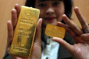 Emas Antam Pancarkan Sinarnya di Akhir Pekan