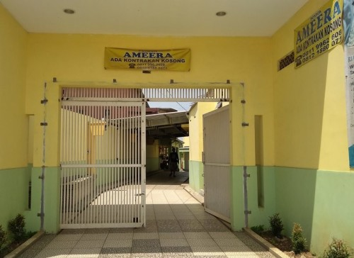 Kontrakan Ammera di Desa Mekarmukti, Cikarang Utara, Kabupaten