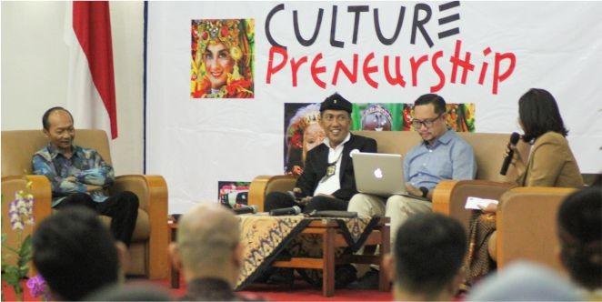 UNPAR menggelar Seminar Nasional bertajuk Culturepreneurship pada Sabtu, 3 November 2018 (Foto:Dok.UNPAR)