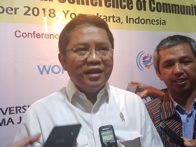 Menteri Komunikasi dan Informatika Rudiantara. Medcom.id/Ahmad Rofahan