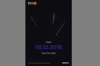 Nokia Gulirkan Teaser Acara 5 Desember di Dubai