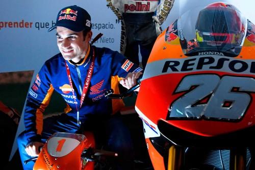 Pembalap Repsol Honda Dani Pedrosa secara resmi dinobatkan