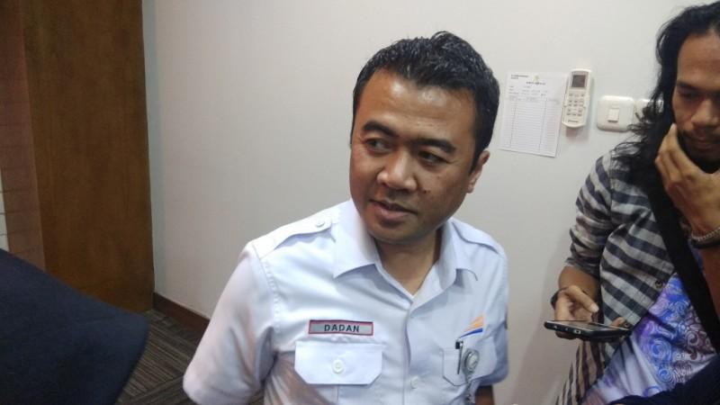 Executive Vice President PT KAI Daop 1 Jakarta Dadan Rudiansyah - Medcom.id/Fachri Audhia Hafiez.