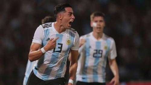 Tanpa Messi, Argentina Hajar Meksiko Dua Gol