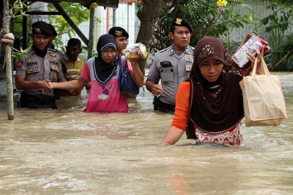 Ratusan Rumah di Aceh Utara Terendam Banjir