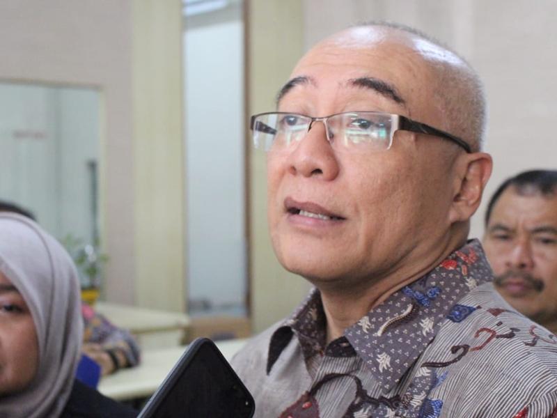 Kepala Badan Kepegawaian Negara (BKN) Bima Haria Wibisana. Medcom.id/Daviq Umar Al Faruq
