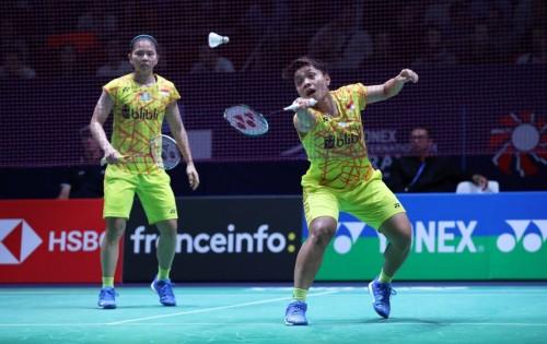 Greysia Polii/Apriyani Rahayu gagal melangkah ke babak final