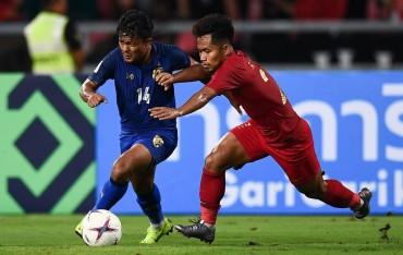 Piala AFF 2018: Statistik Thailand vs Indonesia