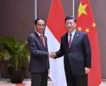 Jokowi dan Xi Jinping Bahas Ekspor Indonesia