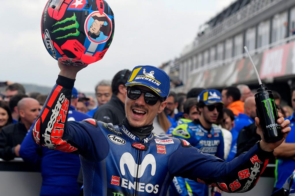 Marquez Jatuh, Vinales Rebut Pole Position di Valencia