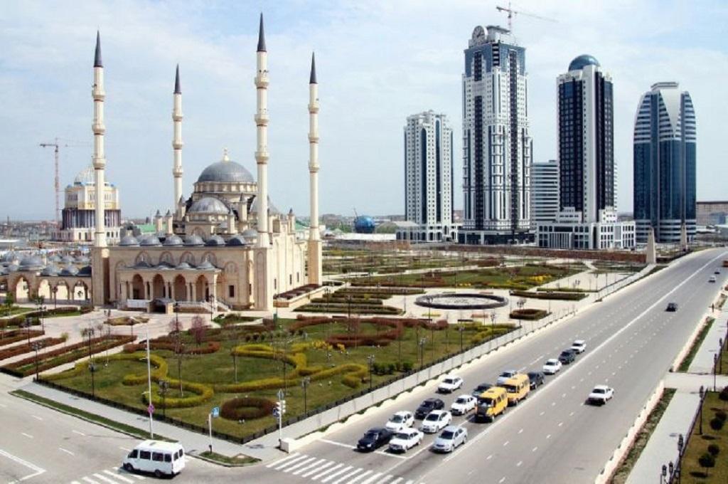 Grozny, ibu kota dari Chechnya. (Foto: AFP)