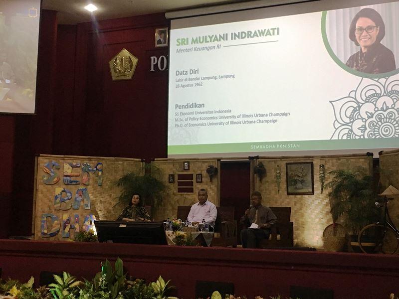Seminar Hasil Pengabdian Kepada Masyarakat (Sembada) bersama 30 Universitas, di PKN STAN, Tangerang Selata, Banten, Minggu, 18 November 2018. Medcom.id/ Farhan Dwitama.