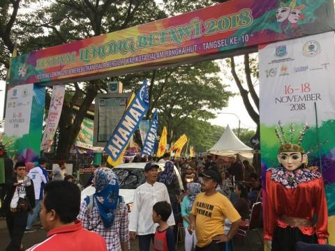 Tangsel Gelar Festival Lenong Betawi Dalam Rangka HUT ke-10
