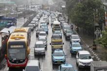 Cuaca Jakarta Mayoritas Hujan di Awal Pekan
