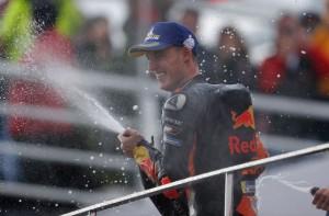 Pol Espargaro, Peraih Podium Pertama Sepanjang Sejarah Red Bull KTM