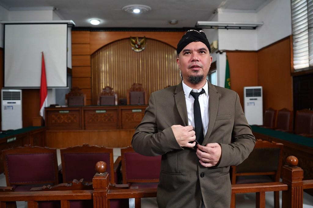JPU Belum Siap, Sidang Tuntutan Ahmad Dhani Ditunda