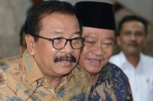 Gubernur Jawa Timur Soekarwo. Foto: Antara/Rosa Panggabean.