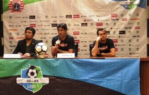 Pelatih Persija Stefano Cugurra (tengah)-Medcom.id/Rendy