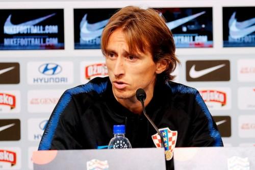 Luka Modric. (Photo by - / AFP)