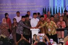 Di Depan Presiden, Soekarwo Klaim Harga Bahan Pokok di Jatim Stabil