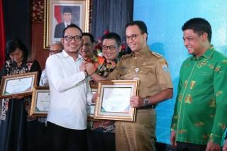 DKI Jakarta Raih Empat Penghargaan Ketenagakerjaan