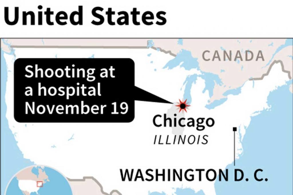 Penembakan di RS Chicago Tewaskan 4 Orang