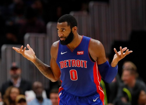 Center Detroit Pistons, Andre Drummond (AFP/Kevin Cox)