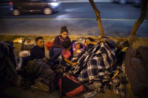 Imigran Meksiko yang ingin mencari peruntungan baik ke Amerika