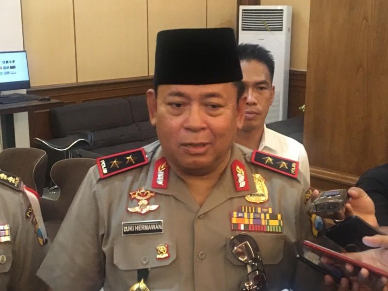 Kapolda Jawa Timur Irjen Lucky Hermawan. Medcom.id/ Amaluddin.