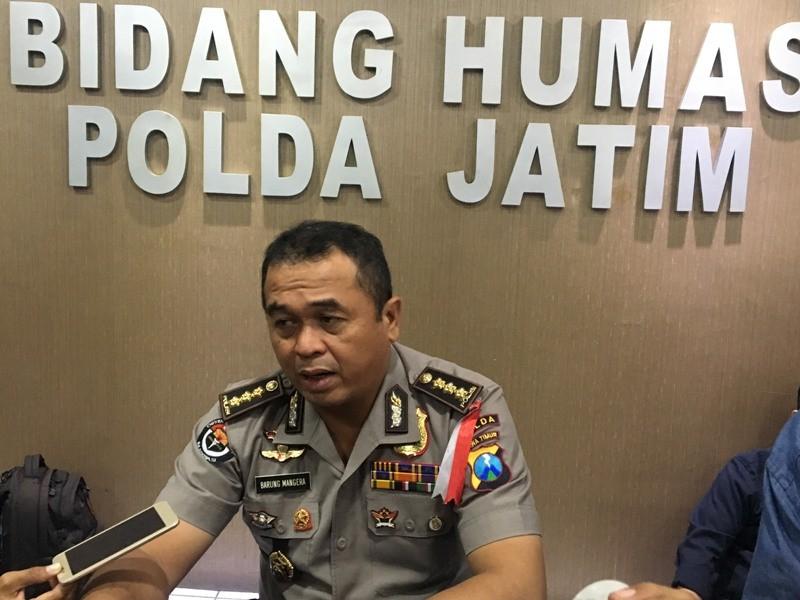 Kabid Humas Polda Jawa Timur, Kombes Frans Barung Mangera. Medcom.id/ Amaluddin.