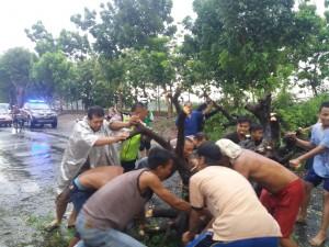 465 Rumah Akibat Angin Puting Beliung di Sidoarjo