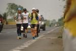 Pria Ini Lari Jarak Jauh Demi Kebangkitan Lombok dan Palu