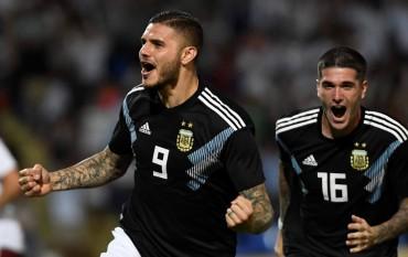 Gol Perdana Icardi dan Dybala Membuahkan Kemenangan untuk Argentina