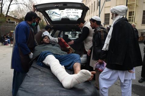 Bom Bunuh Diri Guncang Afghanistan, 50 Orang Tewas
