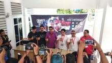 Tiba di Palu, Timnas All-Star Disambut Pasha Ungu