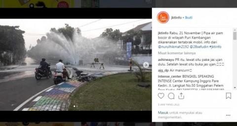 Suplai Air Bersih di Puri Indah Alami Gangguan