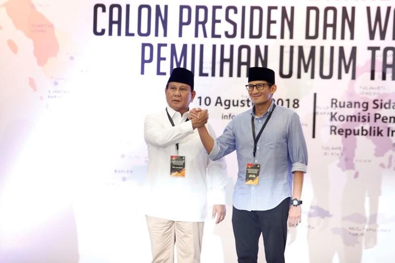 Prabowo Subianto. MI/PIUS ERLANGGA.